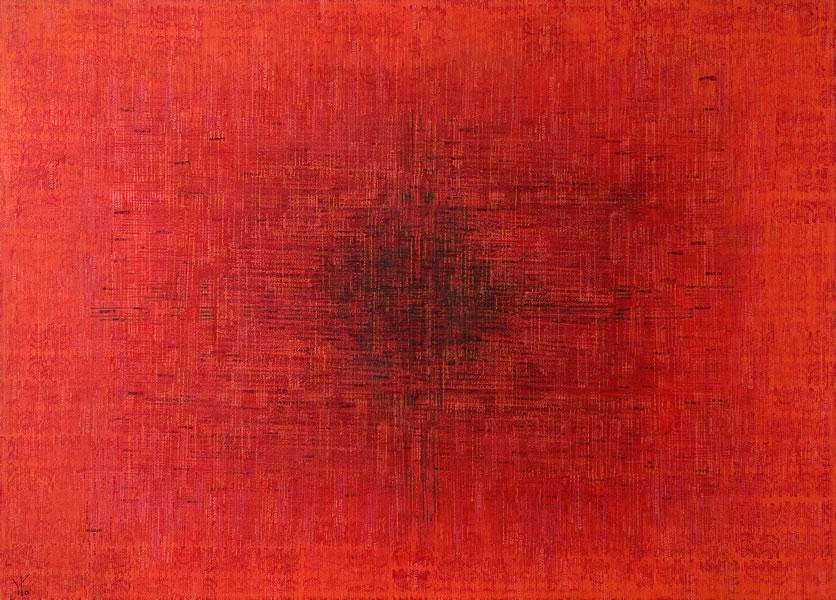 rojo · acrílico sobre tela· 140 x 180 cm · 2007