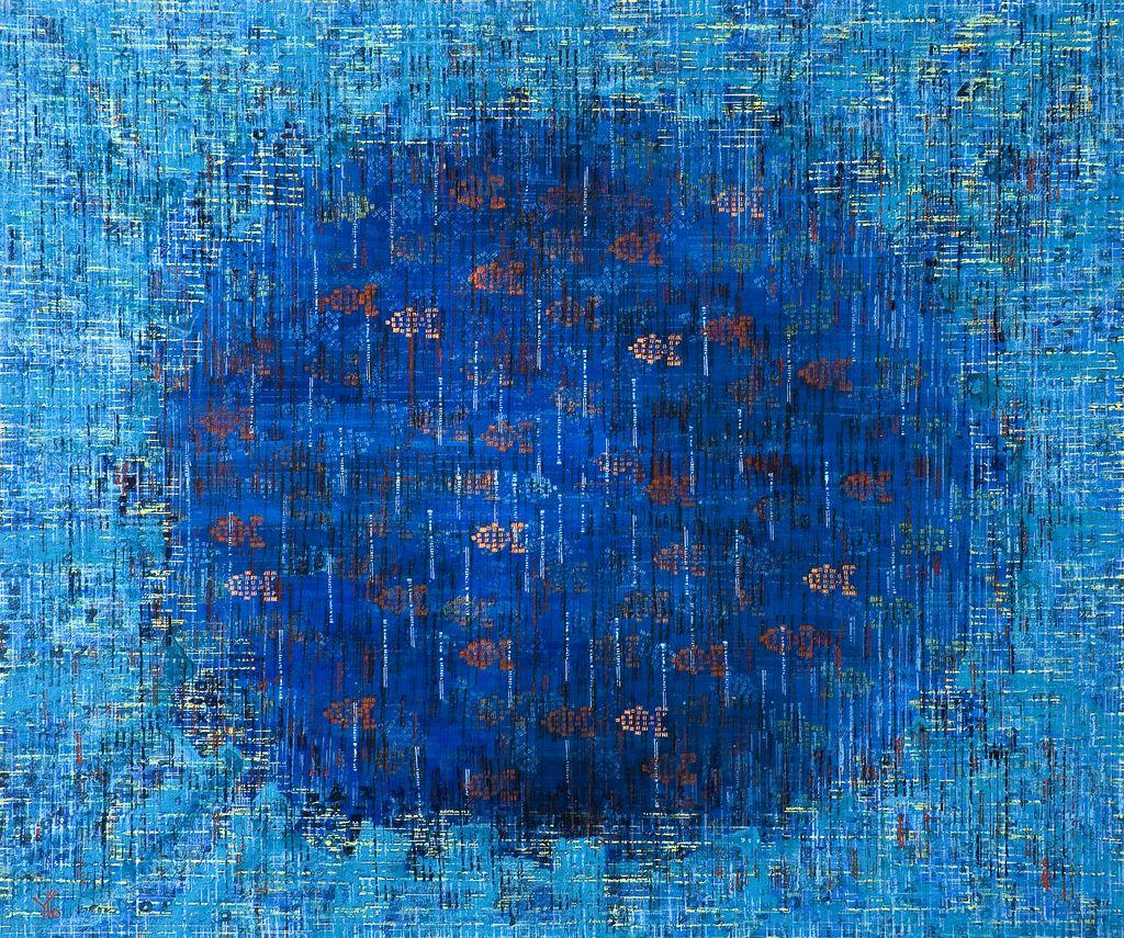 atari sea · acrílico sobre tela· 100 x 120 cm · 2007
