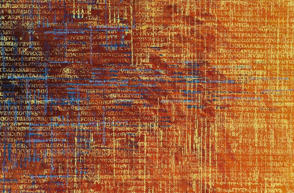 Detalle:  ¿a dónde van? · acrílico sobre tela· 140 x 160 cm · 2007