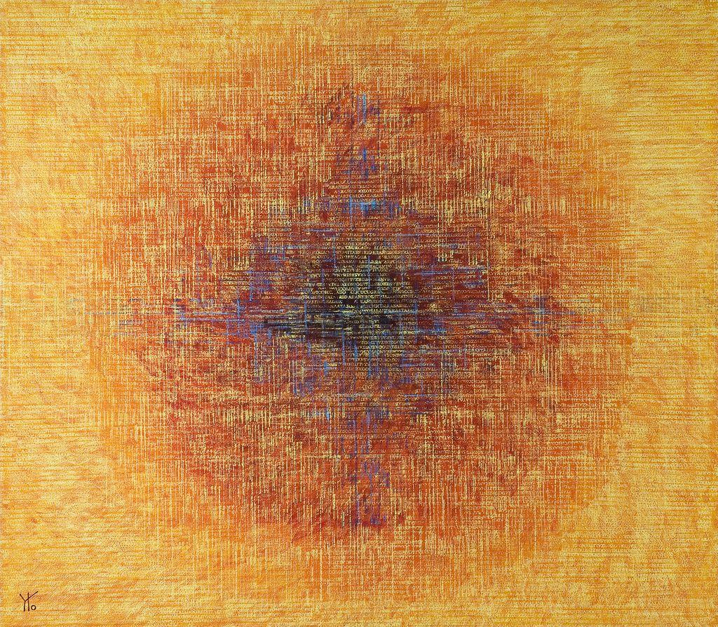 ¿a dónde van? · acrílico sobre tela· 140 x 160 cm · 2007
