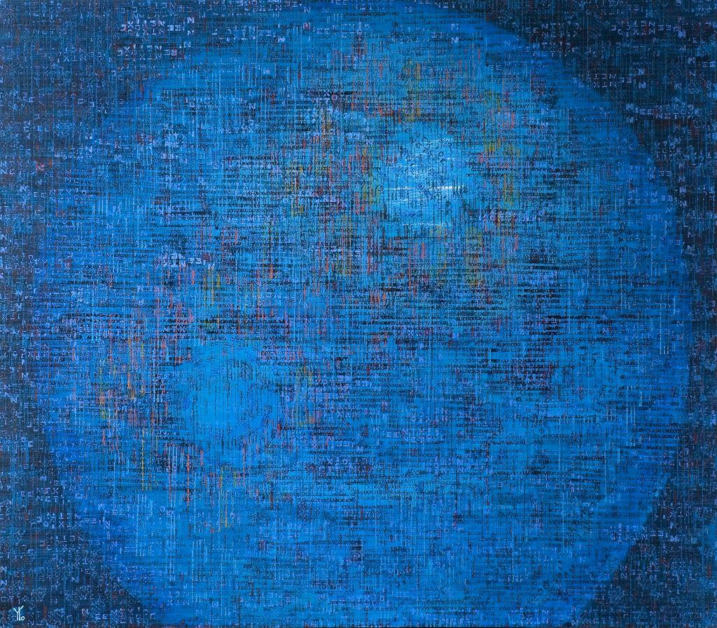 planeta sub-marino · acrílico sobre tela· 140 x 160 cm · 2007