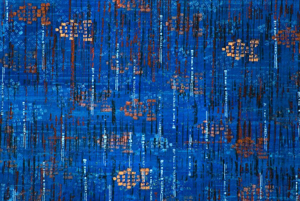Detalle: Atari sea · acrílico sobre tela· 100 x 120 cm · 2007