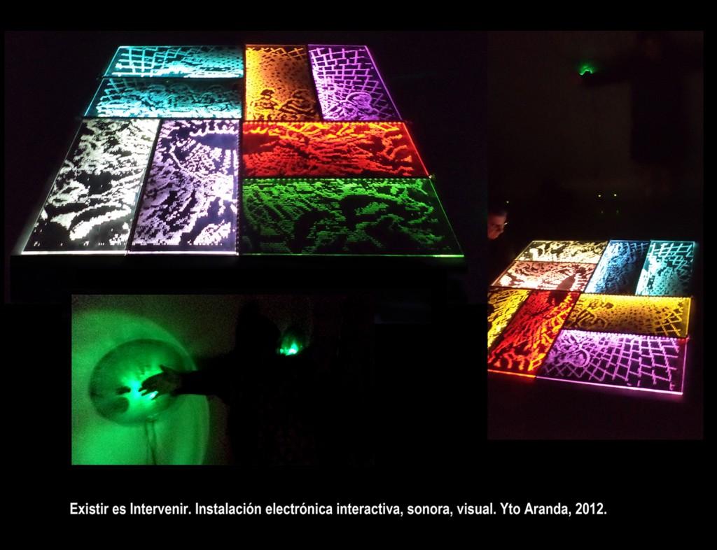 existir es intervenir-instalacion sonora visual electronica- ytoaranda