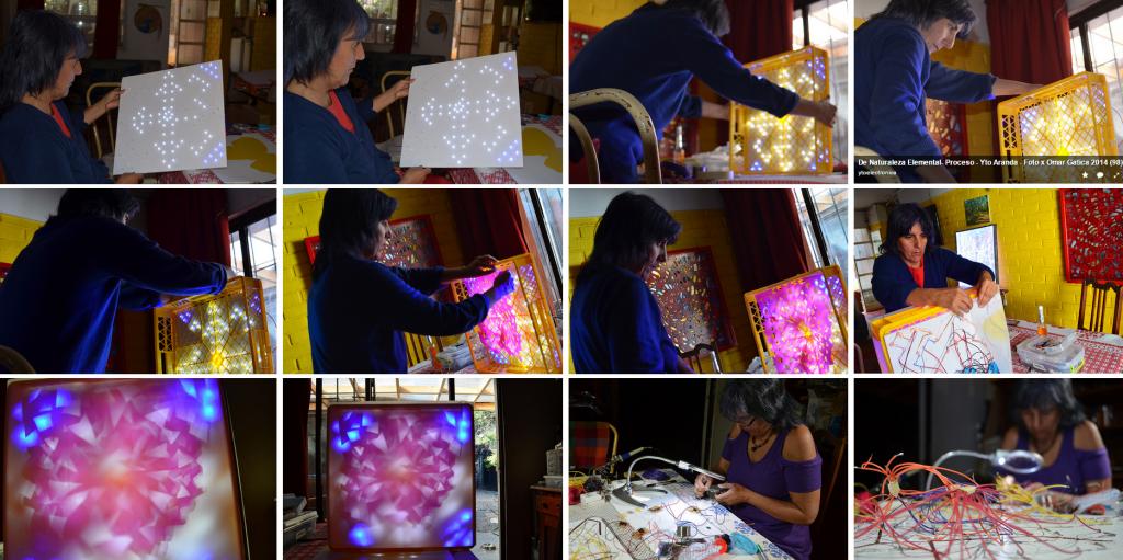 Proceso de Creación de Obra – DE NATURALEZA ELEMENTAL. Yto, Santiago enero 2015